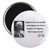 Mark Twain 15 Magnet