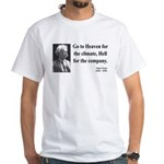 Mark Twain 29 White T-Shirt