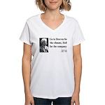 Mark Twain 29 Women's V-Neck T-Shirt