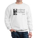 Mark Twain 29 Sweatshirt