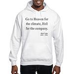 Mark Twain 29 Hooded Sweatshirt