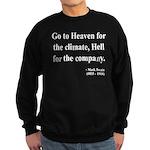 Mark Twain 29 Sweatshirt (dark)
