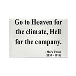 Mark Twain 29 Rectangle Magnet (10 pack)