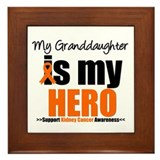 Granddaughter Hero KC Framed Tile
