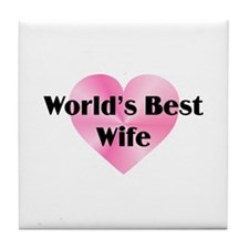 WB Wife Tile Coaster