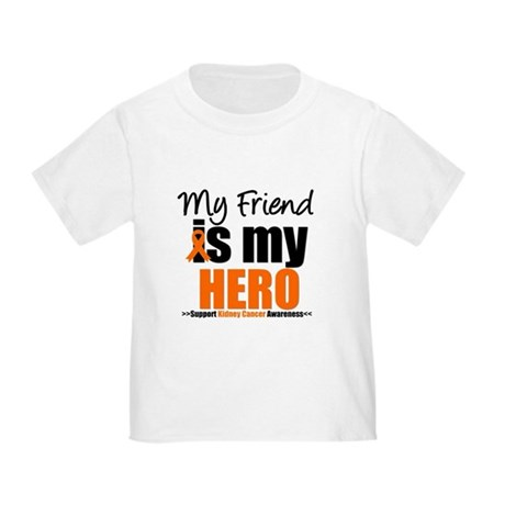 KidneyCancerHero Friend Toddler T-Shirt