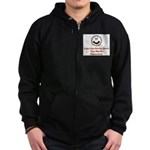 You Can Never Have Too Much C Zip Hoodie (dark)