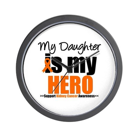 KidneyCancerHero Daughter Wall Clock