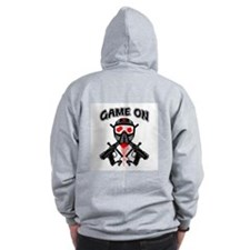 Paintball (Game On) Zip Hoodie