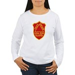 Canal Zone Police Division Women's Long Sleeve T-S