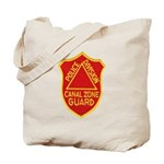 Canal Zone Police Division Tote Bag