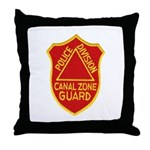 Canal Zone Police Division Throw Pillow