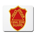 Canal Zone Police Division Mousepad
