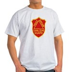 Canal Zone Police Division Light T-Shirt