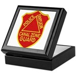 Canal Zone Police Division Keepsake Box