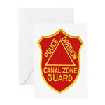 Canal Zone Police Division Greeting Card