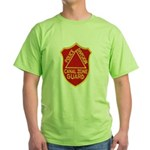 Canal Zone Police Division Green T-Shirt