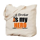 KidneyCancerHero Brother Tote Bag