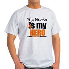 KidneyCancerHero Brother T-Shirt