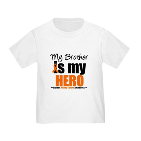 KidneyCancerHero Brother Toddler T-Shirt