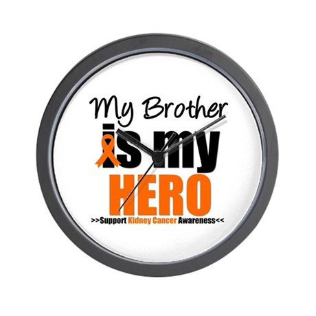 KidneyCancerHero Brother Wall Clock