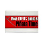 Pinata Time Rectangle Magnet (10 pack)