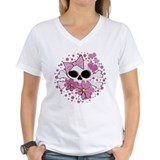 Girly Punk Skull Shirt