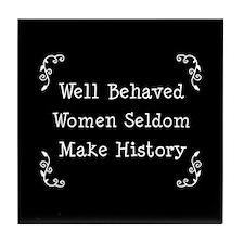 Well Behaved Tile Coaster
