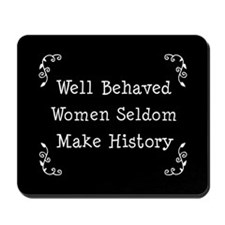 Well Behaved Mousepad