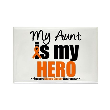 KidneyCancerHero Aunt Rectangle Magnet