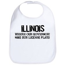Illinois Governor Bib
