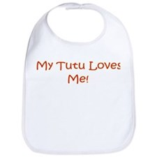 My Tutu Loves Me Bib