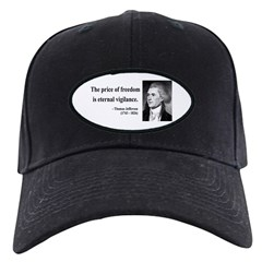 Thomas Jefferson 2 Black Cap