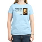 Thomas Jefferson 3 Women's Light T-Shirt