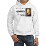 Thomas Jefferson 3 Hooded Sweatshirt