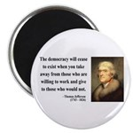 Thomas Jefferson 3 Magnet