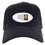 Thomas Jefferson 3 Black Cap