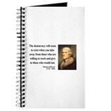 Thomas Jefferson 3 Journal