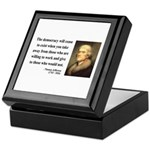 Thomas Jefferson 3 Keepsake Box
