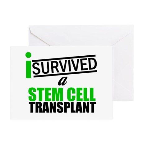 StemCellTransplant Survivor Greeting Card