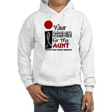I Wear Grey For My Aunt 9 Hoodie Sweatshirt
