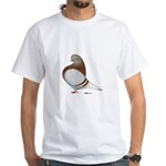 Domestic Flight Mealy White T-Shirt