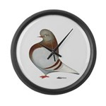 Domestic Flight Mealy Large Wall Clock