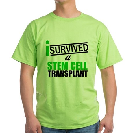 StemCellTransplant Survivor Green T-Shirt