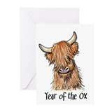 2009 Year Of The Ox Greeting Cards (Pk of 10)