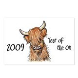 2009 Year Of The Ox Postcards (Package of 8)