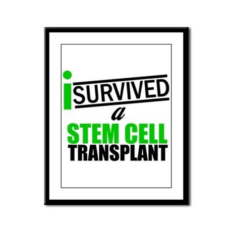 StemCellTransplant Survivor Framed Panel Print