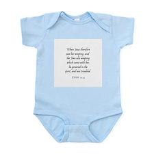 JOHN  11:33 Infant Creeper