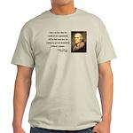 Thomas Jefferson 19 Light T-Shirt