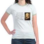 Thomas Jefferson 19 Jr. Ringer T-Shirt